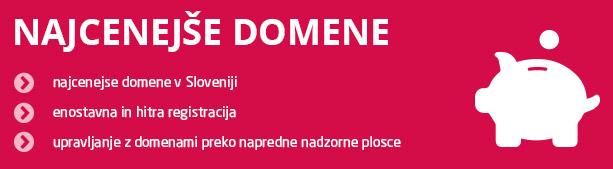 Prasicek.si - poceni registracija domen