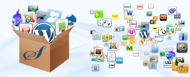 Zbirka aplikacij Softaculous