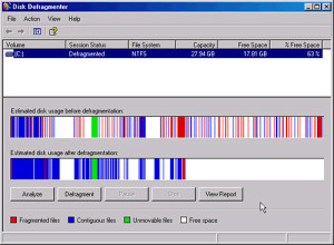 Defragmentacija diska