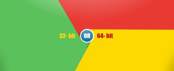 Zakaj morate brskalnik Google Chrome nadgraditi na 64-bitno različico?