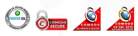 Pečati SSL certifikatov Comodo